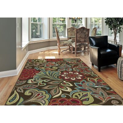 Berwick 3 Piece Brown Area Rug Set
