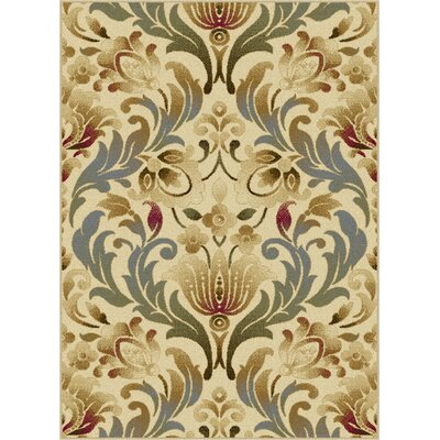 Grange Ivory Area Rug Rug Size: Rectangle 5 x 7