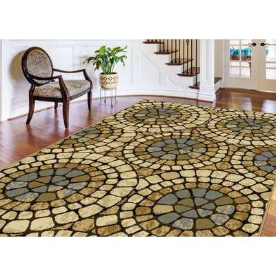 Crawford 3 Piece Tan Area Rug Set
