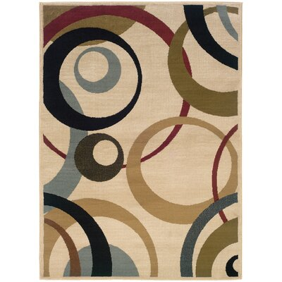 Foster Beige Area Rug Rug Size: Rectangle 5 x 73