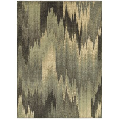 Larson Blue Area Rug Rug Size: Rectangle 110 x 210