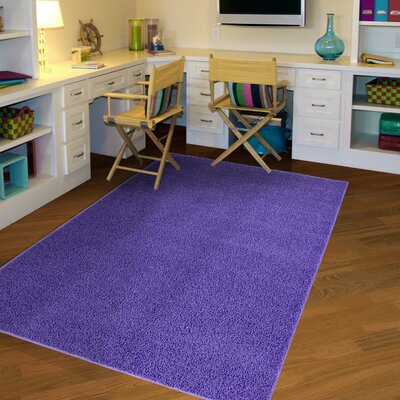Tabitha Purple Indoor/Outdoor Area Rug Rug Size: 5 x 8