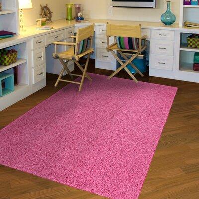 Juliette Pink Area Rug Rug Size: 5 x 8