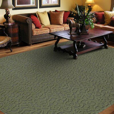 Edith Green Area Rug Rug Size: Rectangle 12 x 18