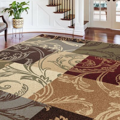 Barbarra Multi Area Rug Rug Size: Rectangle 9 x 12