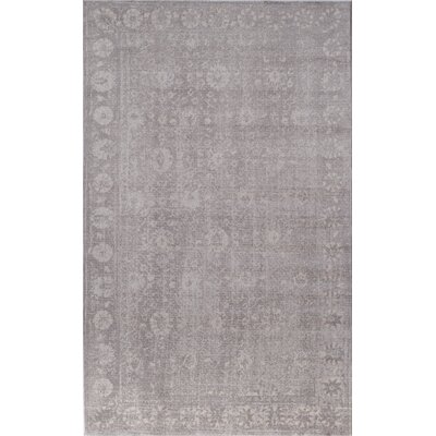 Carter Gray Area Rug Rug Size: 2 x 3