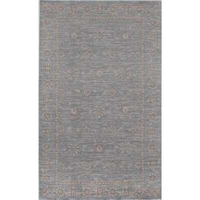 Carter Blue Area Rug Rug Size: Runner 23 x 8