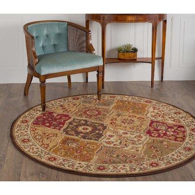 Langlee Area Rug Rug Size: Round 53