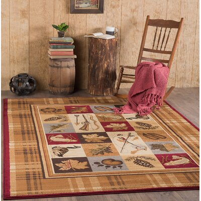 Clifford Brown Area Rug Rug Size: 710 x 103