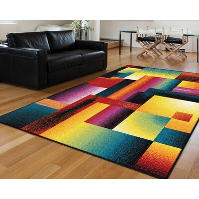 Belford Multi Area Rug Rug Size: 53 x 73