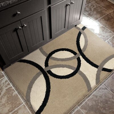 Remsen Beige Area Rug Rug Size: Rectangle 67 x 10