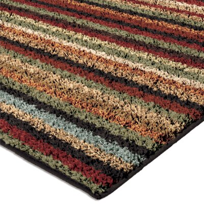 Kirkland Brown Area Rug Rug Size: 53 x 76