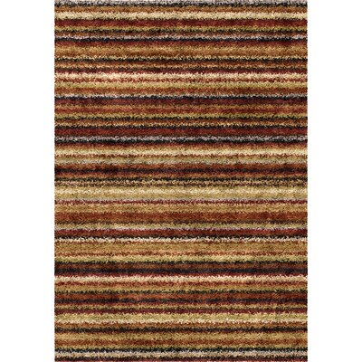 Kirkland Brown Area Rug Rug Size: 710 x 1010