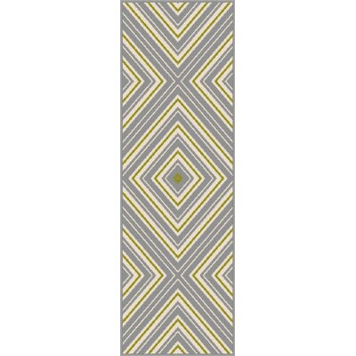 Fairhaven Gray Indoor/Outdoor Area Rug Rug Size: Runner 27 x 73