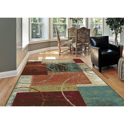 Weishaar Brown/Beige Area Rug Rug Size: Rectangle 5 x 8