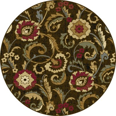 Gulledge Area Rug Rug Size: Round 710