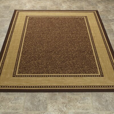 One-of-a-Kind Galesburg Chocolate Area Rug Rug Size: 33 x 5