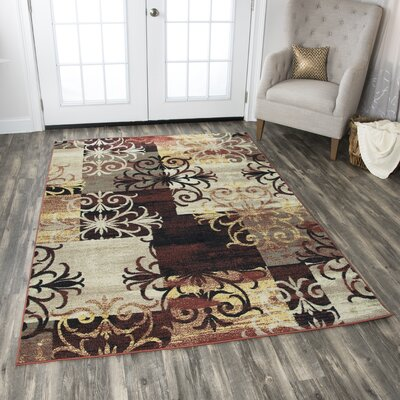 Culver Beige Area Rug Rug Size: Rectangle 710 x 1010