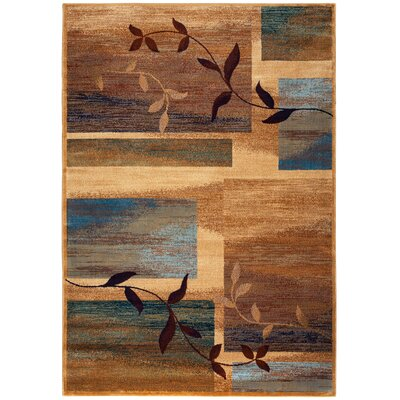 Malcolm Beige Area Rug Rug Size: Rectangle 53 x 77