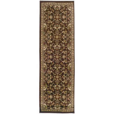 Abell Brown/Beige Area Rug Rug Size: Runner 26 x 79