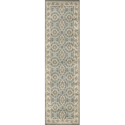 Avery Light Green Area Rug Rug Size: Runner 22 x 77