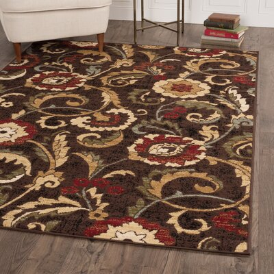 Gulledge 3 Piece Brown Area Rug Set