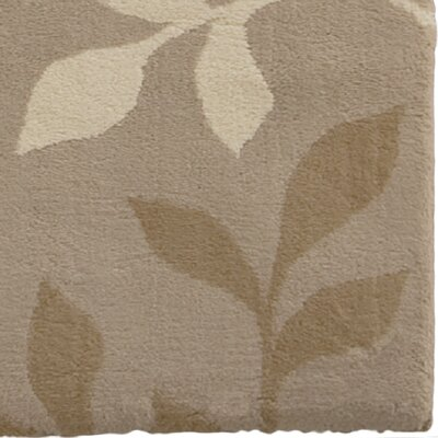 Freetown Brown Area Rug Rug Size: 53 x 76