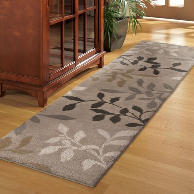 Freetown Brown Area Rug Rug Size: Runner 111 x 75