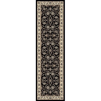 Weiser Rectangle Multi-Colored Oriental Area Rug Rug Size: Runner 22 x 77