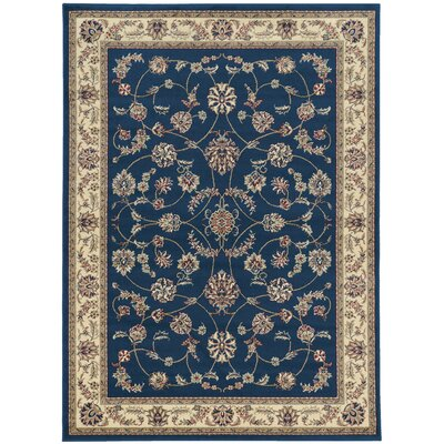 Colebrook Navy Area Rug Rug Size: Rectangle 33 x 411