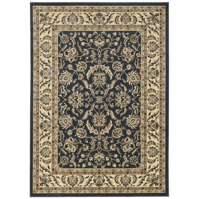 Weiser Traditional Rectangle Blue Area Rug Rug Size: Rectangle 79 x 11