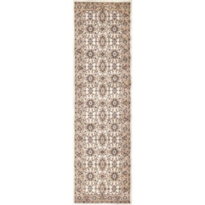 Avery Bone Area Rug Rug Size: Runner 22 x 77