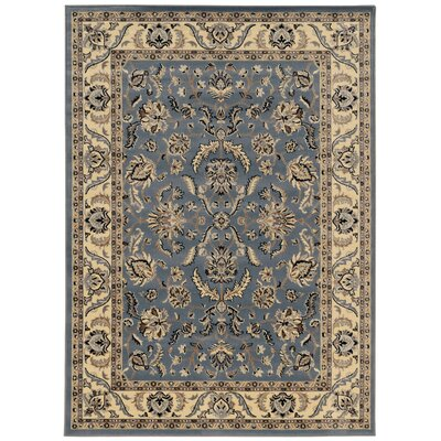 Weiser Rectangle Blue Oriental Area Rug Rug Size: 33 x 411