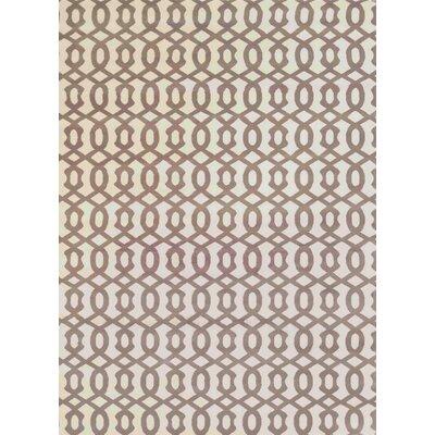 Durham Ivory Area Rug Rug Size: 53 x 73