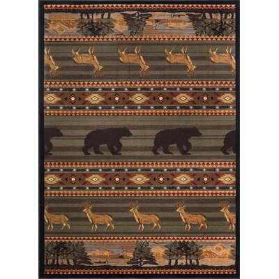 Alers Brown Area Rug Rug Size: Rectangle 5 x 8