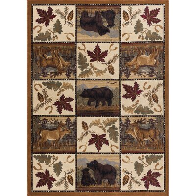 Blake Beige Area Rug Rug Size: Rectangle 5 x 8