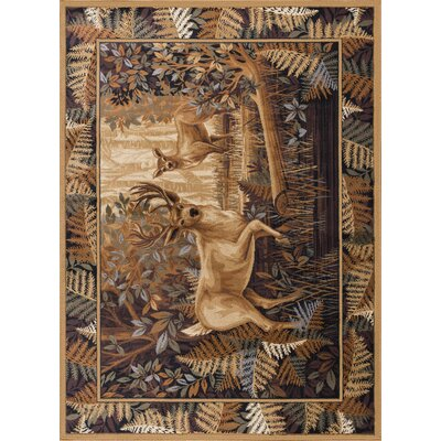 Altamont Beige/Brown Area Rug Rug Size: Rectangle 5 x 8