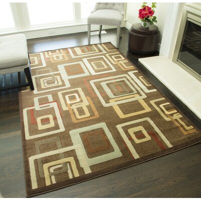 Allston Brown Area Rug Rug Size: Rectangle 311 x 53