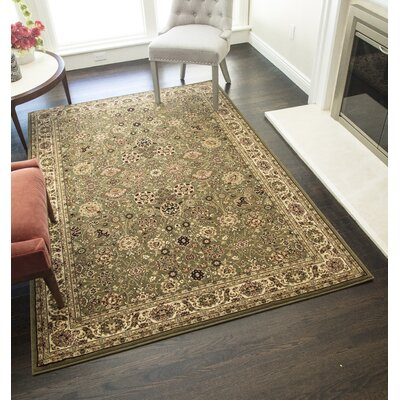 Gloucester Olive Area Rug Rug Size: Rectangle 910 x 132