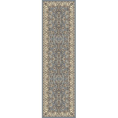 Weiser Rectangle Blue Oriental Area Rug Rug Size: Runner 22 x 77