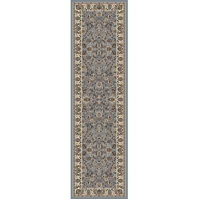 Weiser Traditional Blue Area Rug Rug Size: Runner 22 x 77