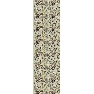 Windsor Green Area Rug Rug Size: Runner 22 x 77