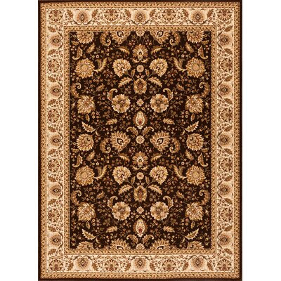 Dexter Brown Area Rug Rug Size: 33 x 53