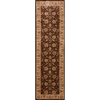 Dexter Brown Area Rug Rug Size: Runner 23 x 77