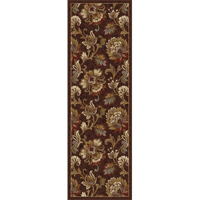Gunnora Brown Area Rug Rug Size: Runner 27 x 73