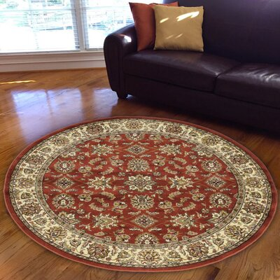 Colebrook Brick Area Rug Rug Size: Rectangle 55 x 77