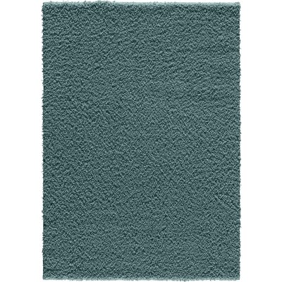 Vanessa Blue Area Rug Rug Size: Rectangle 5 x 7