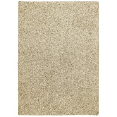 Vanessa Hand-Tufted Beige Area Rug Rug Size: Rectangle 5 x 7