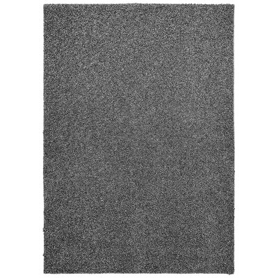 Vanessa Hand-Tufted Dark Silver Area Rug Rug Size: Rectangle 5 x 7