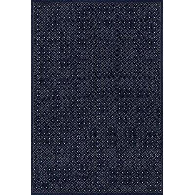 Colebrook Navy Blue Area Rug Rug Size: Rectangle 55 x 77